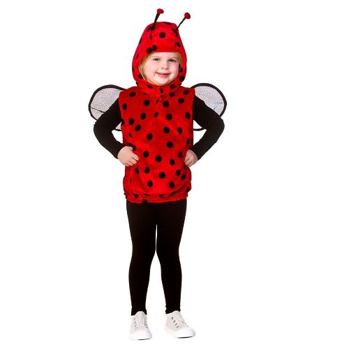 Childrens Child Tabard - Ladybug Costume Unisex Fancy Dress